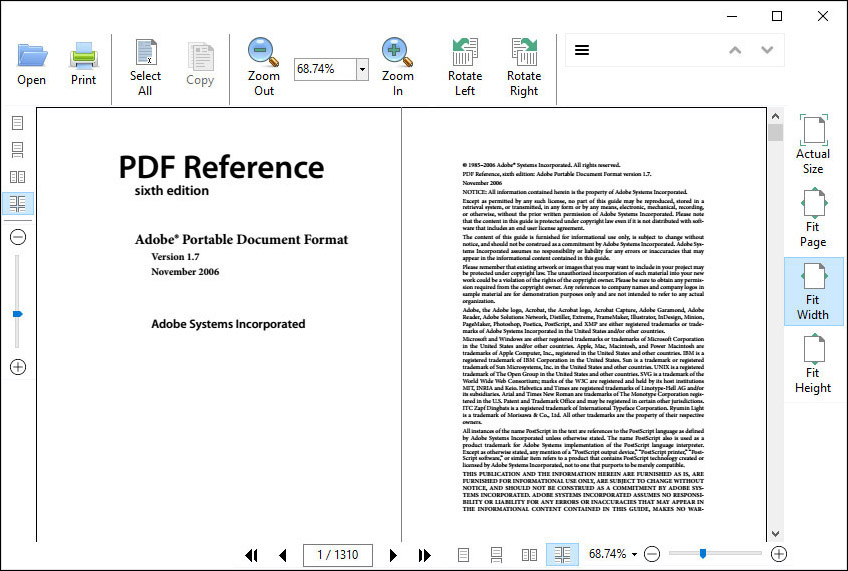 WPF PDF Viewer -  Net PDF Viewer for WPF Applications